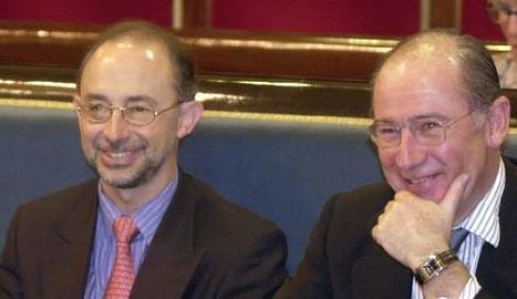 Montoro i Rato el 2001 quan era vicepresident del Govern.