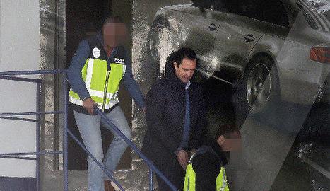 El detingut ha estat arrestat quan sortia de casa seua.
