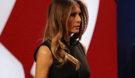 La primera dama dels EUA, Melania Trump, en una imatge d'arxiu.