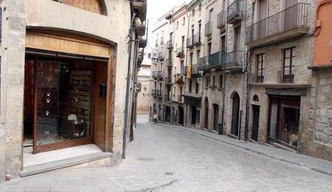 El centre històric, comercial i de serveis de Solsona.