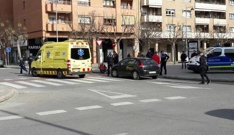 El nen va ser donat d'alta al mateix lloc de l'accident.
