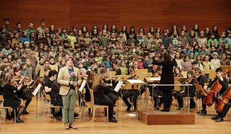 L'Auditori va acollir la clausura de la setmana cultural del Conservatori, amb una cantata basada en l'òpera 'Follet', d'Enric Granados.