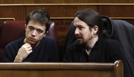 Errejón i Iglesias se la juguen aquest cap de setmana a Vistalegre II.