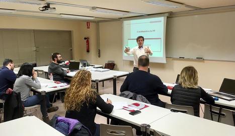 Formació perquè enginyers de Lleida imparteixin classes en instituts de FP