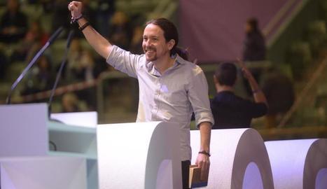 Iglesias arrasa Errejón en les votacions de l'assemblea de Podemos