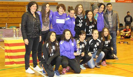 L'equip del Cervera-Segarra es va imposar a la final femenina al superar el Tàrrega.