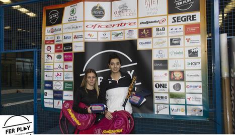 Guanyadors en modalitat femenina del primer torneig dels sis que integren el circuit.