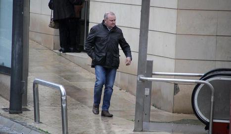 Un dels quatre caçadors, després de la declaració d'ahir al jutjat.