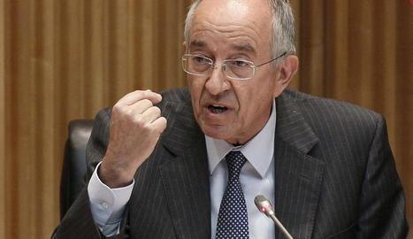L'exgovernador del Banc d'Espanya, Miguel Ángel Fernández.