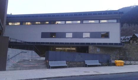 Imatge de l'Escòla Garona de Vielha.