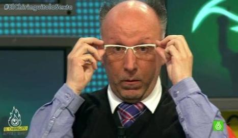 François Gallardo a la tele.