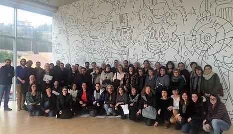 Els participants de la jornada a la Sala Polivalent.