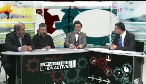 Un moment del programa de Lleida Televisió.