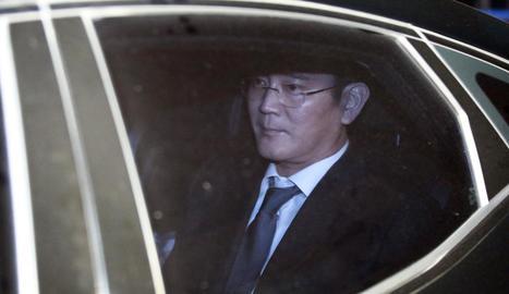 Imatge de l'hereu del grup Samsung, Lee Jae-yong.