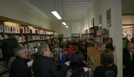 Divendres es van iniciar els actes commemoratius del 50è aniversari de la biblioteca Fermí Palau.