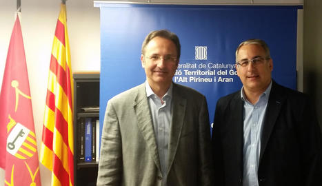 Mor d'un infart el director dels serveis territorials d'Interior en l'Alt Pirineu i Aran, Josep Palau.