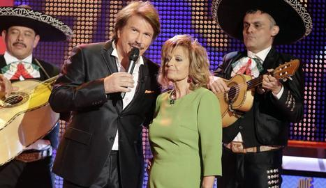 La Campos amb Edmundo a '¡QTTF!'.