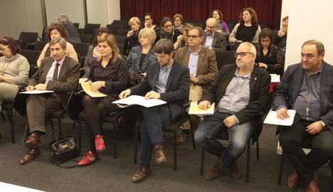 La Generalitat va acollir ahir la sessió de constitució d'aquest nou consell assessor.