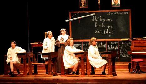 La versió femenina d''El florido pensil' l'octubre passat, l'obra de més èxit amb 511 espectadors.