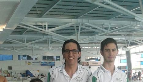 Iker Ruiz, campió de Catalunya de natació adaptada