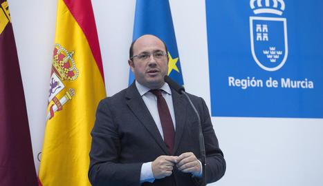 El president de la regió de Múrcia, Pedro A. Sánchez, imputat pel 'cas Auditori'.