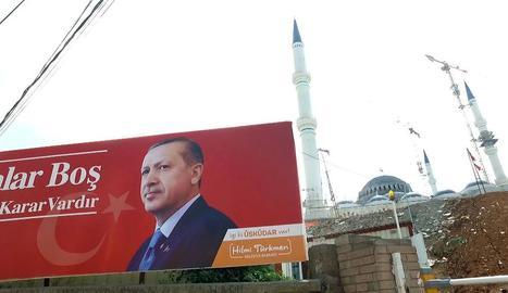 Retrat del president Erdogan