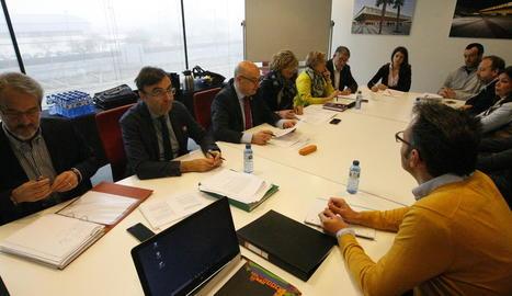 Picabaralla entre els grups al consell d'administració de la Llotja