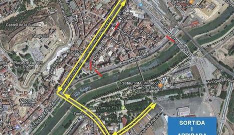 Detall rua carnaval Lleida