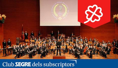 Fotografia de la Banda Simfònica Unió Musical de les Terres de Lleida.