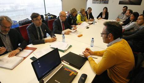 Imatge de la reunió anterior del consell de la Llotja.