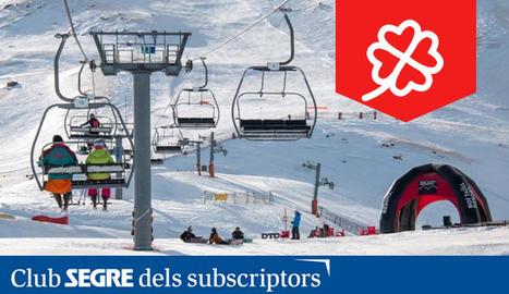 Imatge de l'estació d'esquí de Boí Taüll