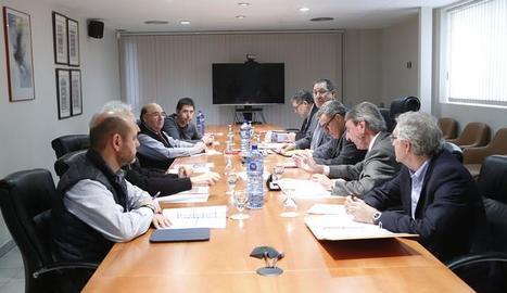 El consell d'administració de Mercolleida aquest dijous.