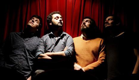 Imatge del quartet català Els Amics de les Arts, que publica nou àlbum discogràfic.
