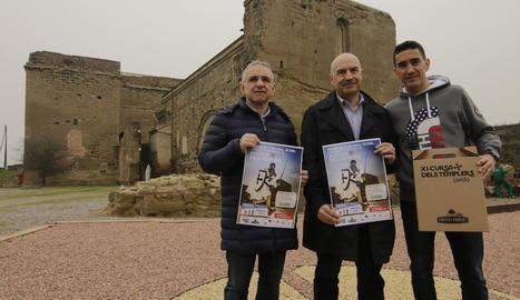 Els organitzadors van presentar ahir la prova al mateix Castell dels Templers, com és tradició.