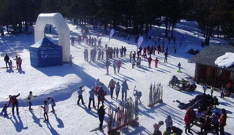 L'estació d'esquí nòrdic de Sant Joan de l'Erm.