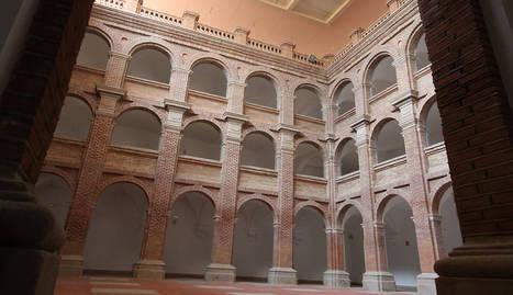 Imatge de l'interior de l'edifici, que ha estat reformat.