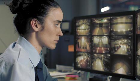 L'actriu Lali Ayguadé, protagonista del curt 'Timecode'.