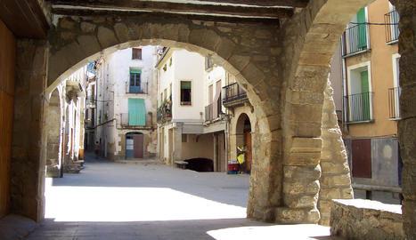 Vilanova de Meià, una imatge de Francesc Cardona que podreu veure en l'apartat de fotos que ens envien els lectors.
