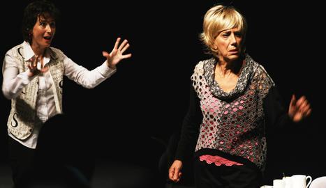 Núria Casado i Imma Colomer a 'De Prime Time'.