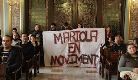 Membres de Mariola en Moviment van esbroncar Ros i els grups que van vetar la seua moció.