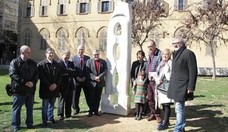 La Paeria recupera l'escultura 'Gènesi' d'Abad Gil