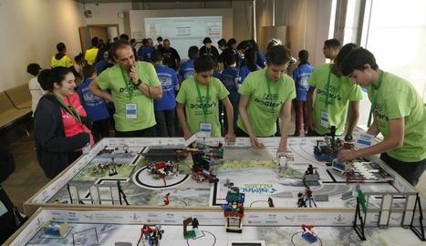 Lleida, capital de l'enginyeria robòtica