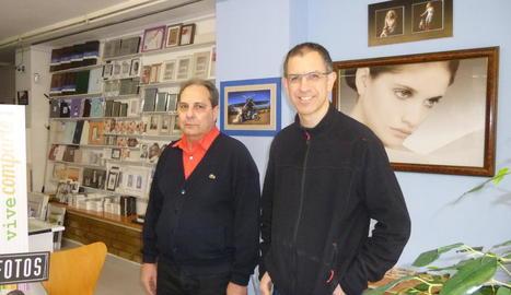 Cesar Duaigües va trobar en Carles Solà la via perquè el negoci continués en actiu.