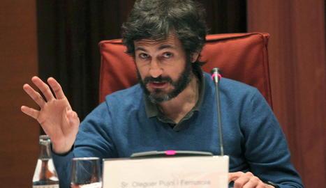 Oleguer Pujol, fill de l'expresident Jordi Pujol.