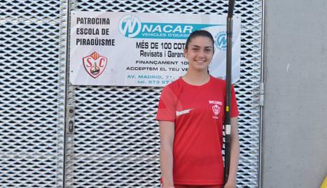 Alba Juanes, una altra jove promesa sortida del planter del Sícoris.