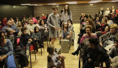 La Inestable 12 va sorprendre el públic a l'Espai Orfeó.