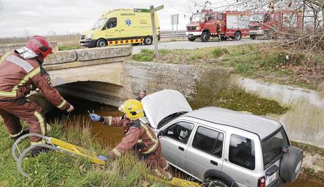 Cinc ferits en accidents a Ivars d'Urgell, Oliola i Massalcoreig
