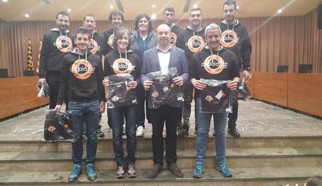 L'ajuntament de Balaguer distingeix el club Pedala.cat