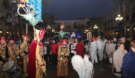 Els fets s'haurien produït al Carnaval de Vilanova.