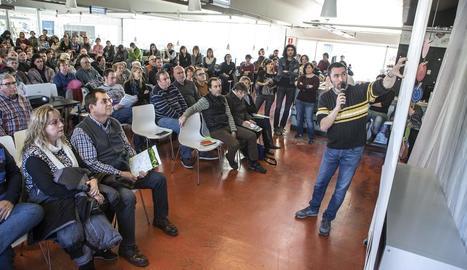 L'associació Alba va presentar ahir el projecte en l'assemblea anual de socis a Tàrrega.